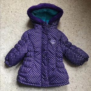 Other - Baby girl puffer jacket size 12months